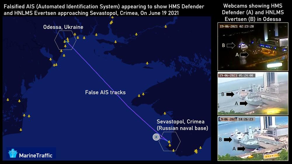 2 tàu chiến NATO rời cảng trong đêm, lao thẳng tới căn cứ Nga ở Crimea: Mỹ phát hiện điều bất thường - Ảnh 1.