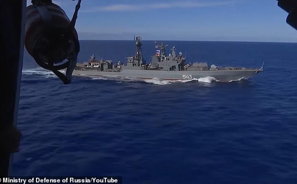 Hình ảnh Nga tập trận lớn nhất từ sau Chiến tranh Lạnh trên Thái Bình Dương