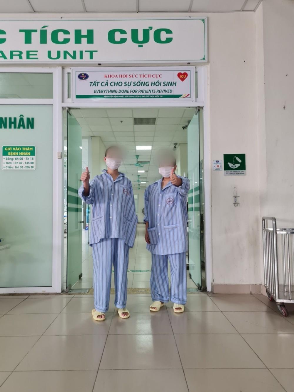 Hai mẹ con nữ bệnh nhân 17 tuổi, thoát khỏi cánh tử thần mang tên COVID-19 - Ảnh 1.