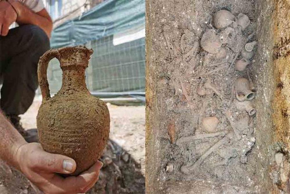 Đào vườn, phát hiện 32 người nằm trong bình khổng lồ từ thế kỷ 2 - Ảnh 2.
