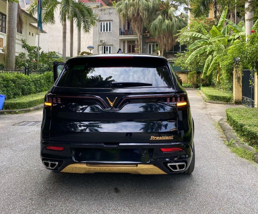 VinFast President phối chi tiết mạ vàng: Đại gia này cũng từng mua liền 5 chiếc VinFast Lux - Ảnh 3.