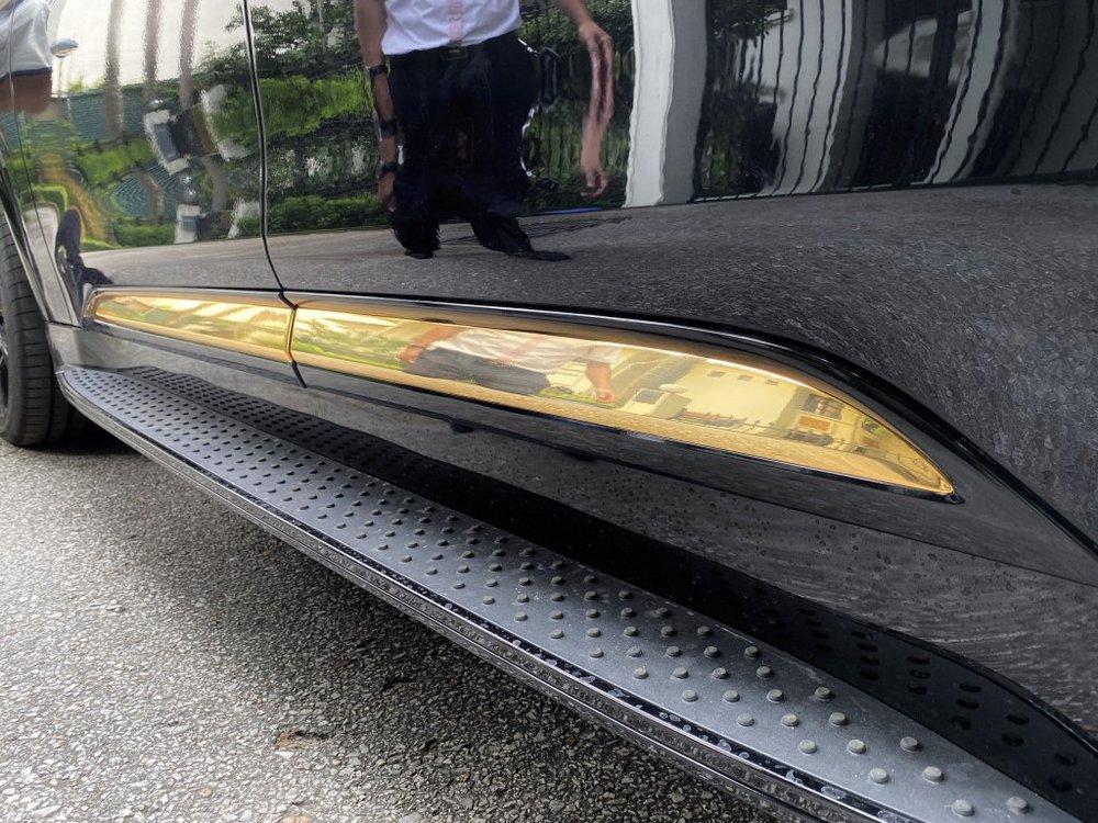 VinFast President phối chi tiết mạ vàng: Đại gia này cũng từng mua liền 5 chiếc VinFast Lux - Ảnh 6.