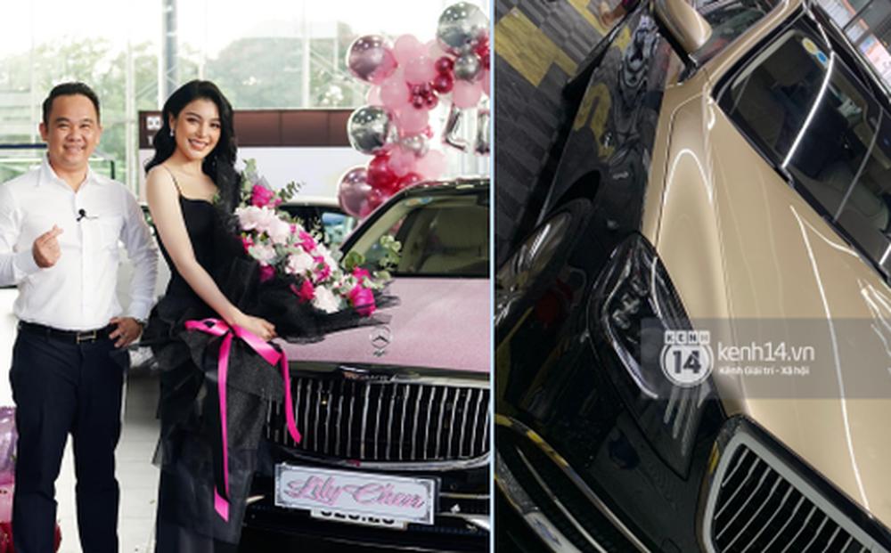 Giữa nghi vấn chung bồ tỷ phú với Ngọc Trinh, Lily Chen 'xử' con xe 9 tỷ sao rồi?