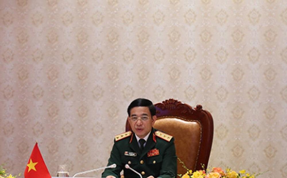 Bộ trưởng Phan Văn Giang: Chính sách quốc phòng Việt Nam mang tính chất hòa bình và tự vệ
