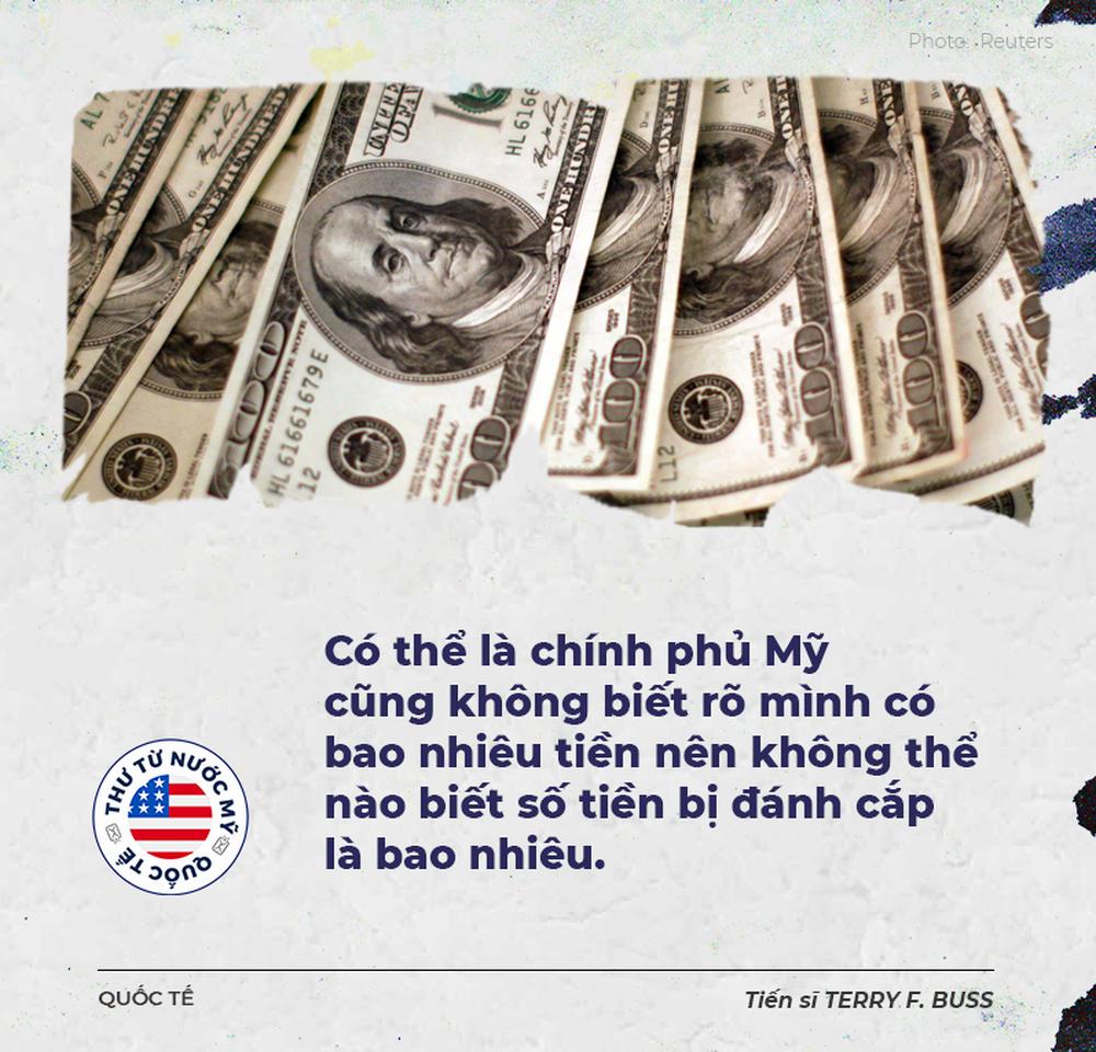 Thư từ nước Mỹ: Lấy tiền của chính phủ Mỹ quá dễ dàng, bạn sẽ bất ngờ khi biết số tiền đã rơi vào tay kẻ cắp - Ảnh 1.