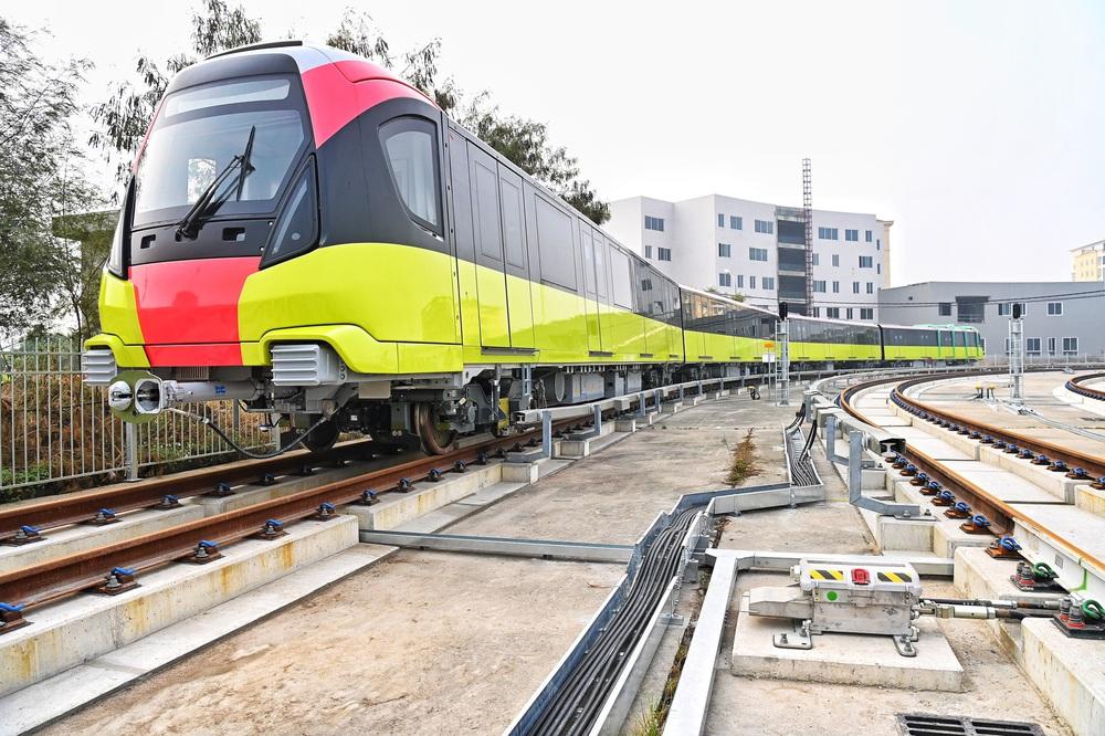 Ngày mai chạy thử  6 đoàn tàu metro Nhổn - Ga Hà Nội - Ảnh 1.