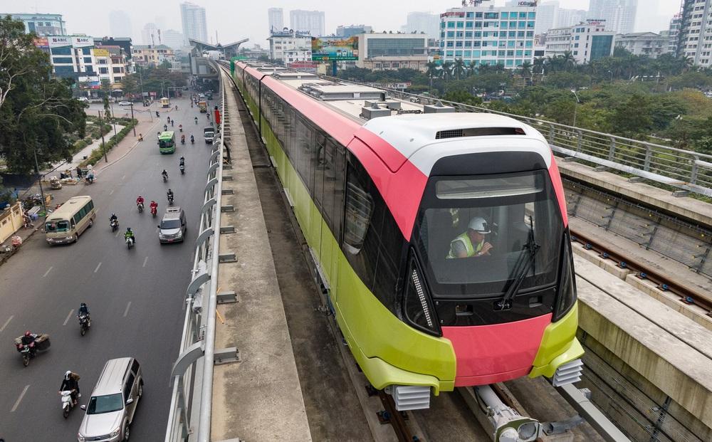 Ngày mai chạy thử  6 đoàn tàu metro Nhổn - Ga Hà Nội