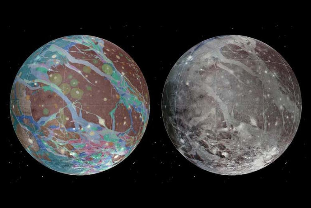 Tàu vũ trụ NASA lần đầu tiên đi qua Mặt trăng Ganymede của sao Mộc trong hơn 2 thập kỷ - Ảnh 2.