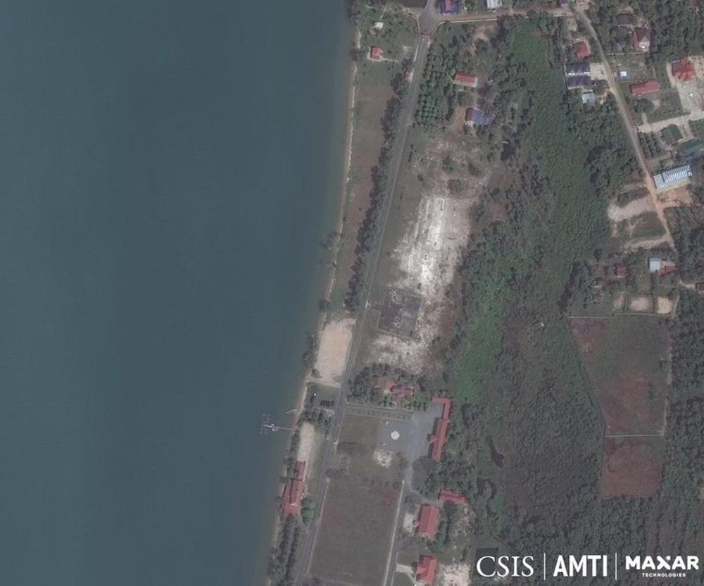 """Ảnh vệ tinh """"lật mặt"""" căn cứ quân sự bí mật của Trung Quốc ở Campuchia? - Ảnh 1."""