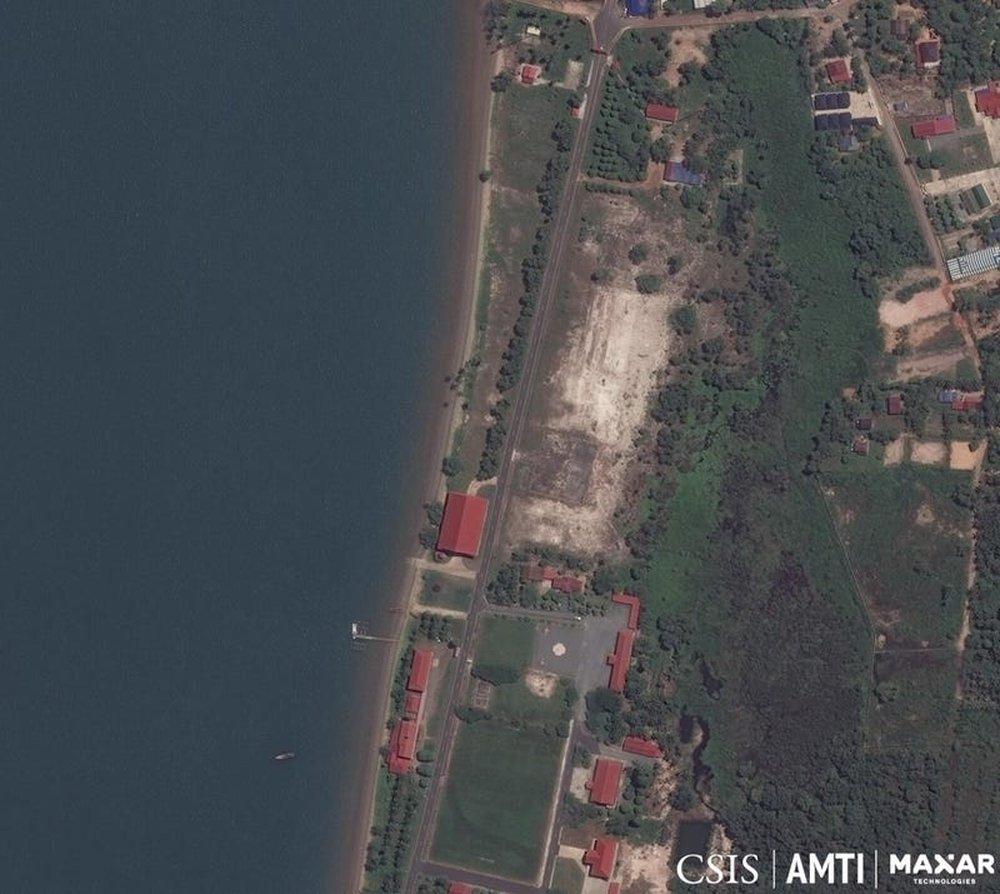 """Ảnh vệ tinh """"lật mặt"""" căn cứ quân sự bí mật của Trung Quốc ở Campuchia? - Ảnh 2."""