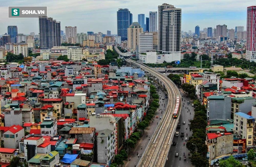 Hình ảnh đoàn tàu tuyến Metro hơn tỷ USD ở Hà Nội do Pháp thiết kế chạy thử nghiệm qua các nhà ga trên cao - Ảnh 13.