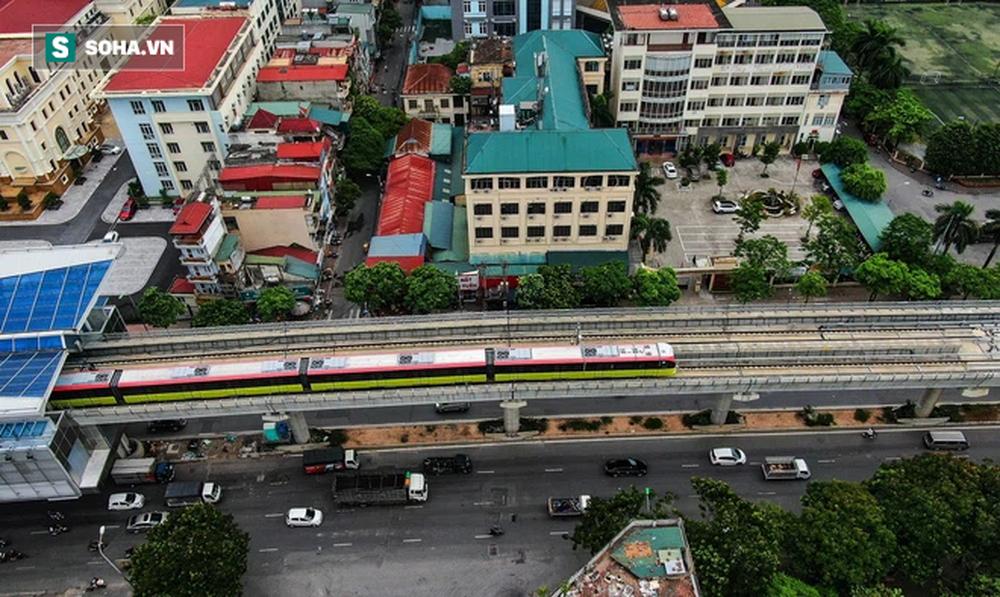 Hình ảnh đoàn tàu tuyến Metro hơn tỷ USD ở Hà Nội do Pháp thiết kế chạy thử nghiệm qua các nhà ga trên cao - Ảnh 14.