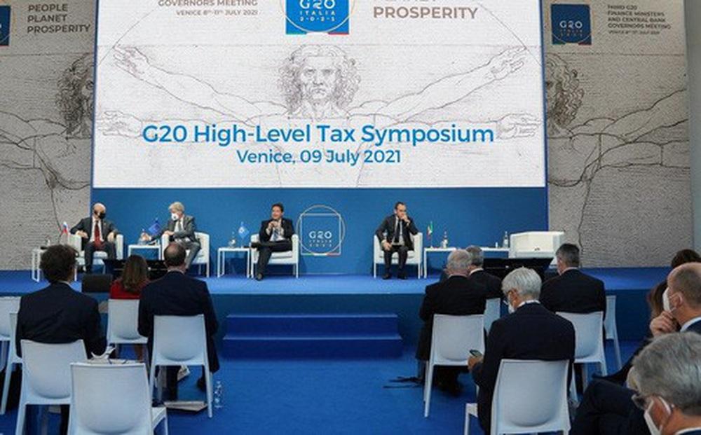 G20 đạt thỏa thuận lịch sử về thuế