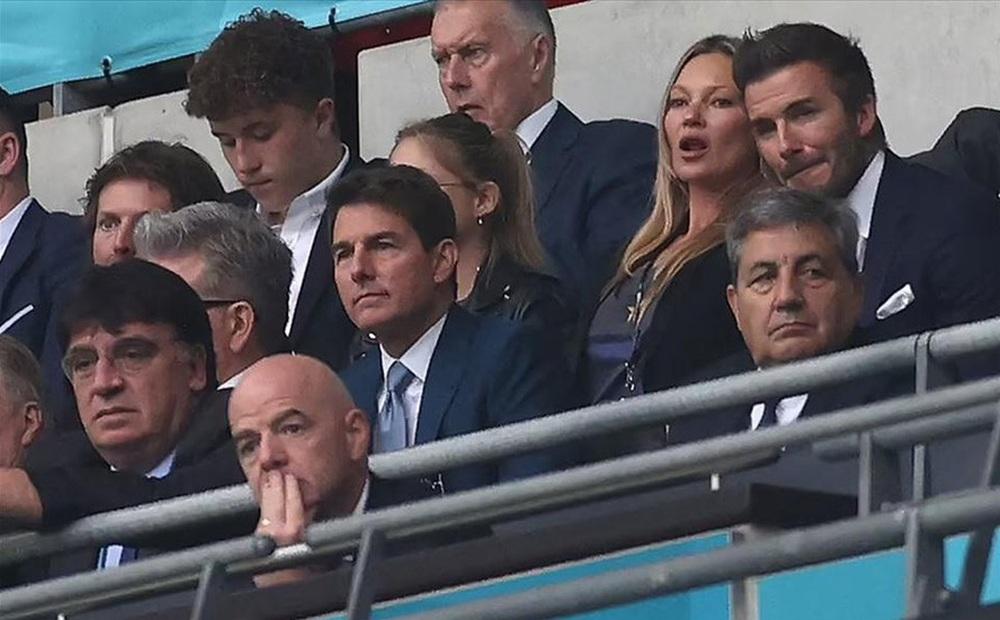 Dàn khách VIP gây náo loạn Wembley, Beckham và Tom Cruise chiếm sóng truyền hình