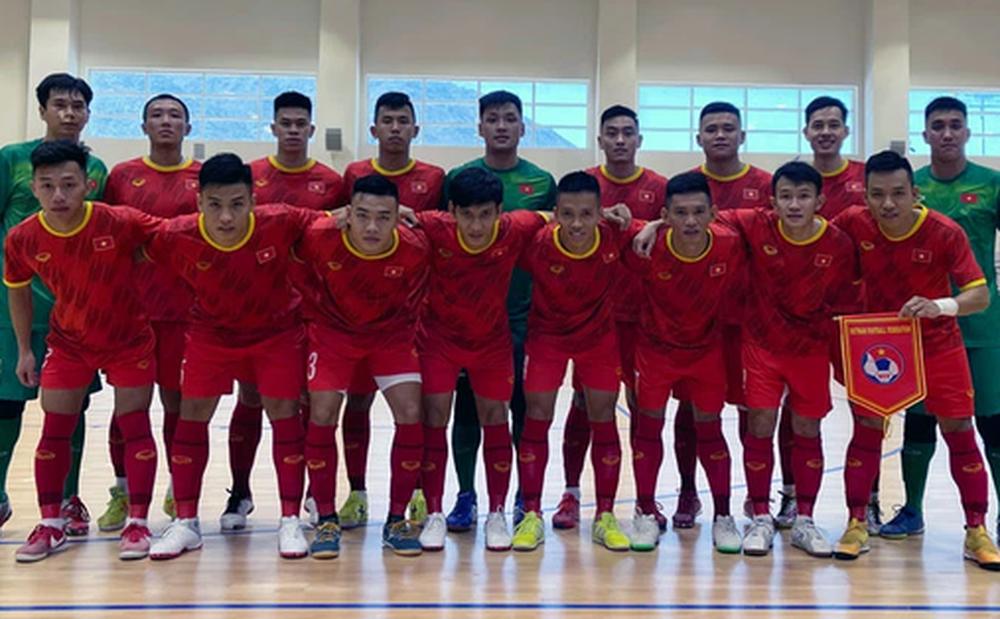 Đội tuyển futsal Việt Nam điều chỉnh ngày tập trung hướng tới World Cup 2021