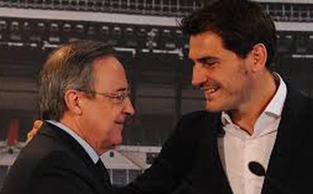 Chủ tịch Perez bị lộ đoạn ghi âm có lời lẽ miệt thị Raul và Iker Casillas vào năm 2006