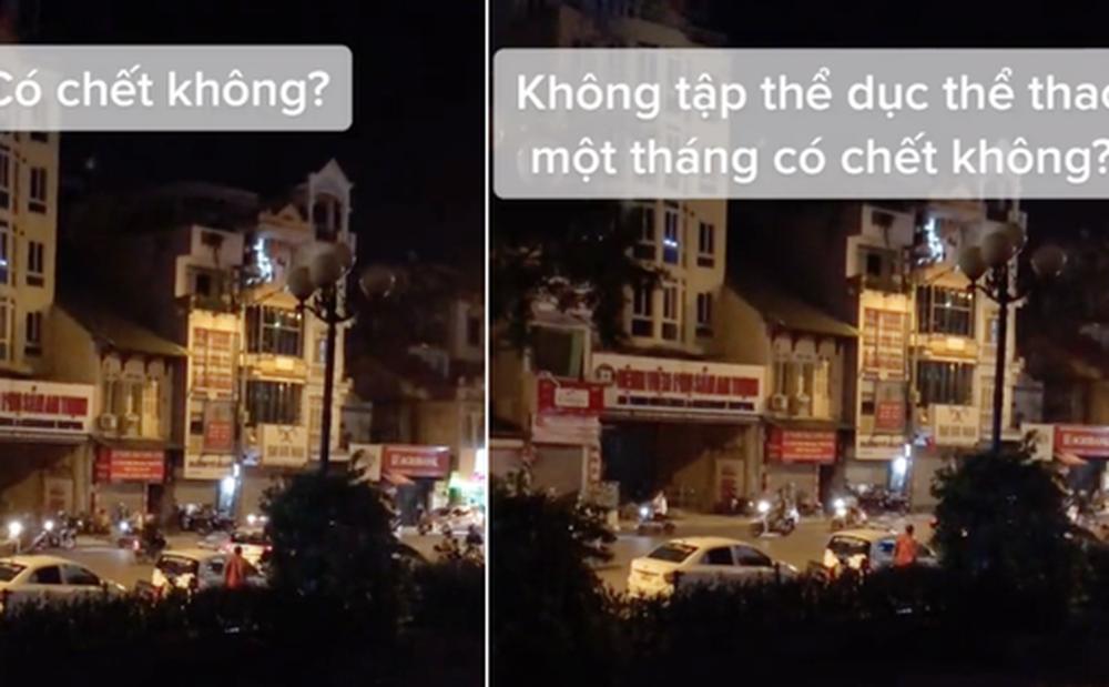 Clip triệu views: Lực lượng chức năng nhắc nhở người dân Hà Nội không tập thể dục, nói gì mà được netizen đòi nhân rộng?