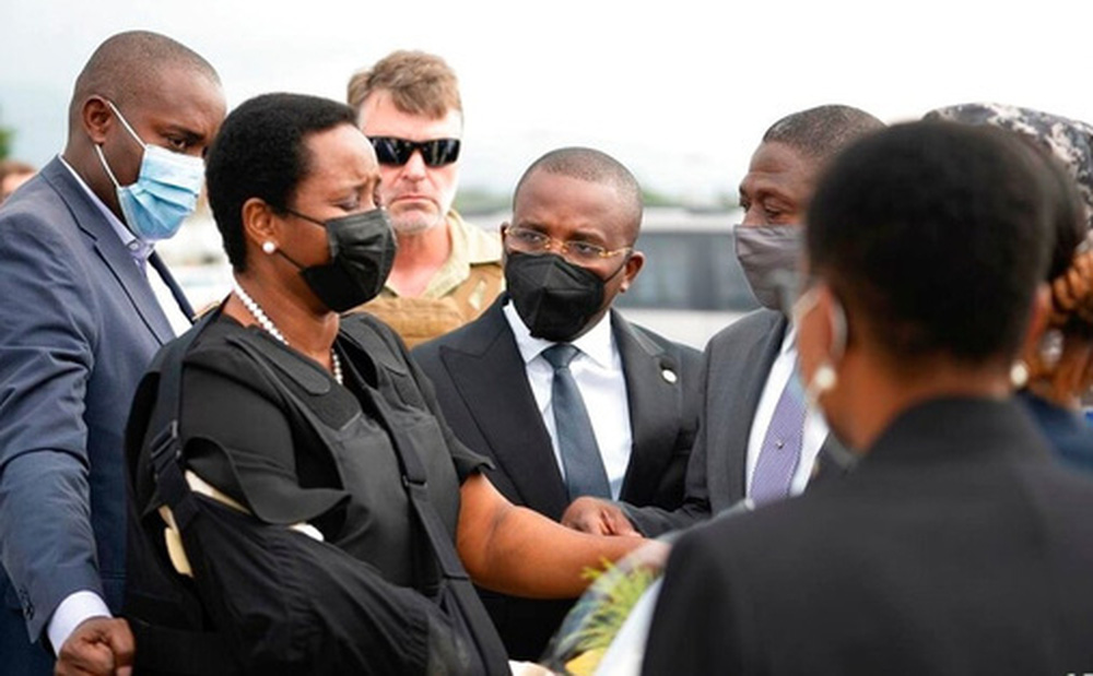 Vợ góa của tổng thống Haiti bất ngờ về nước