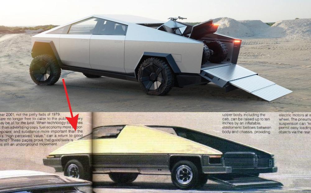 Elon Musk: 'Tesla Cybertruck do người ngoài hành tinh tương lai thiết kế' – hóa ra lại có thiết kế từ thế kỷ trước?