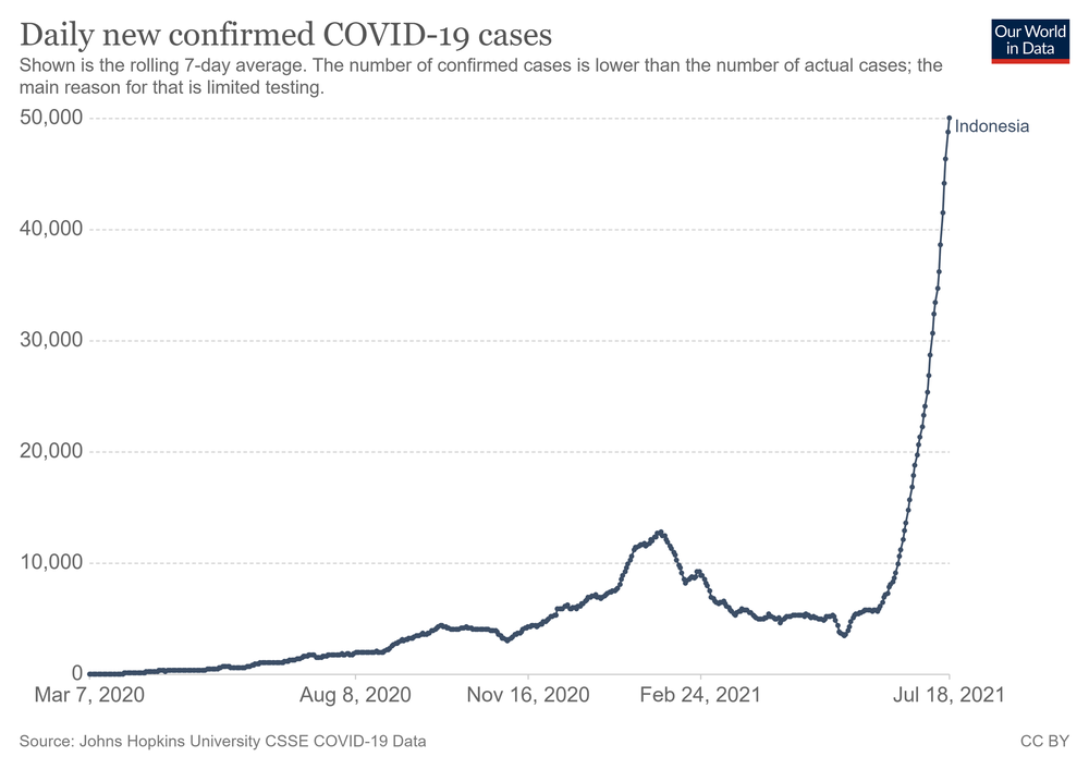 Số ca nhiễm vượt quá Ấn Độ và Brazil, lý do khiến Indonesia trở thành điểm nóng Covid-19 toàn cầu - Ảnh 6.