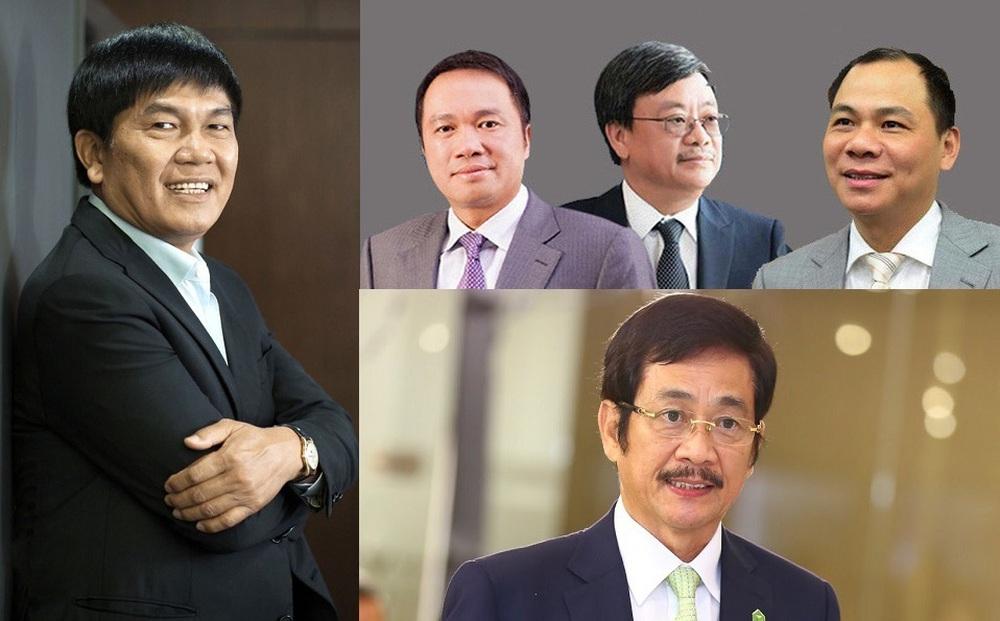 Tỷ phú Việt vẫn kiếm thêm nghìn tỷ, Việt Nam có 7 tỷ phú đô la