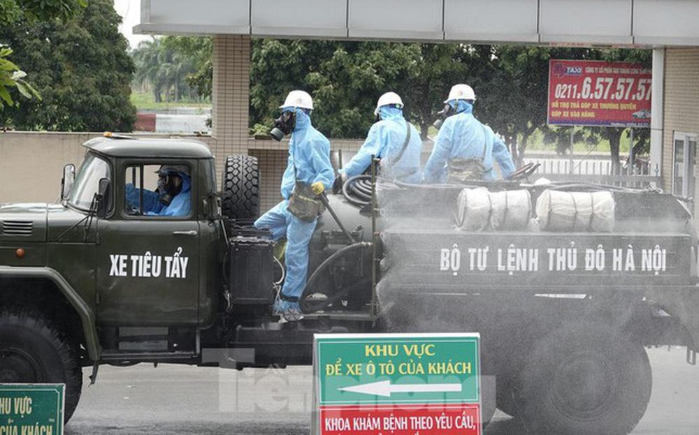 Tư lệnh Nguyễn Quốc Duyệt: Sẽ xem xét trách nhiệm nếu Hà Nội bùng phát dịch