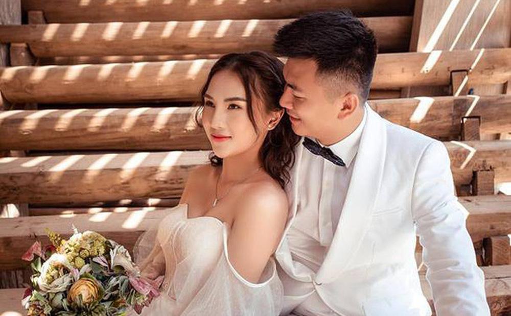 Đám cưới xa hoa của Vũ Phương Anh hot girl báo chí: Váy đính 10.000 hạt pha lê, đãi tiệc ở khách sạn sang nhất Hà Nội