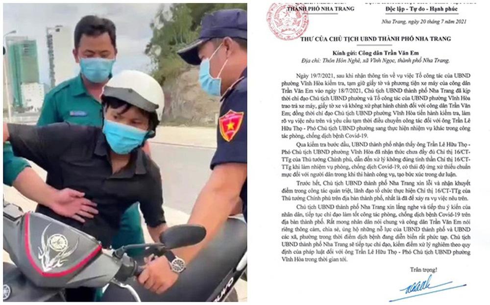 """Vụ """"bánh mì không phải hàng thiết yếu"""": Nội dung bức thư xin lỗi của Chủ tịch TP Nha Trang"""