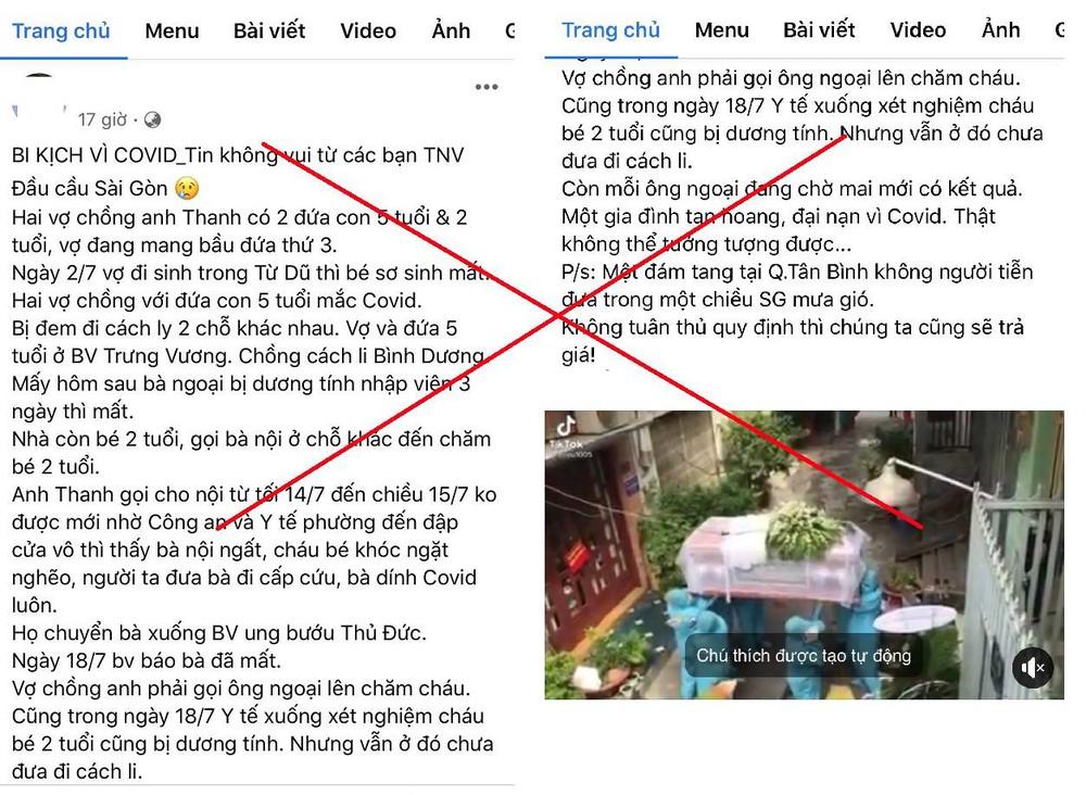 Sự thật clip đám tang không người đưa tiễn vì Covid-19 ở Sài Gòn - Ảnh 2.