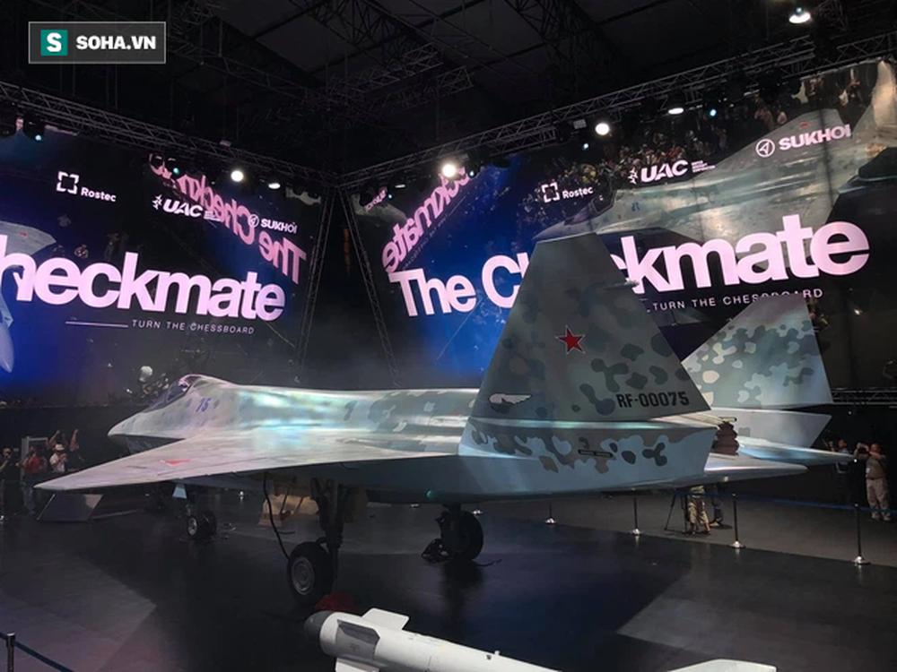 Tiêm kích bí ẩn ở MAKS 2021: Tận mắt thấy tinh hoa vũ khí Nga khiến cả thế giới thán phục - Ảnh 4.
