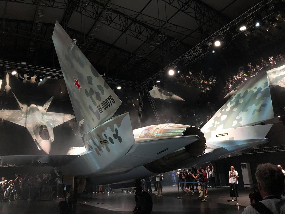 Tiêm kích Su-75 rực sáng ở MAKS 2021: Tập đoàn Rostec Nga làm được điều chưa từng có - Ảnh 2.
