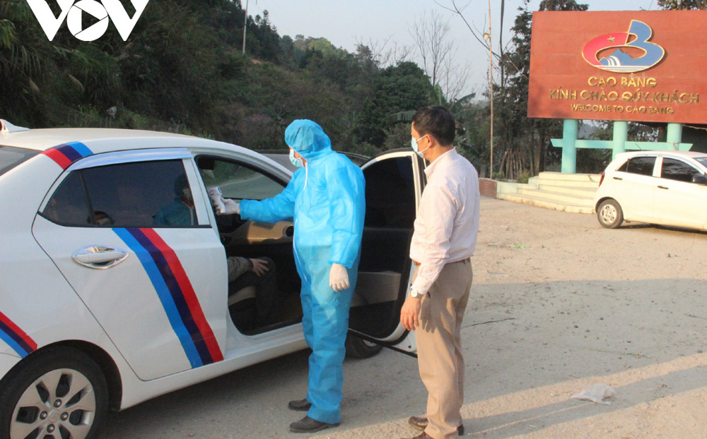 Cao Bằng khẩn trương truy vết trường hợp liên quan ca dương tính SARS-CoV-2