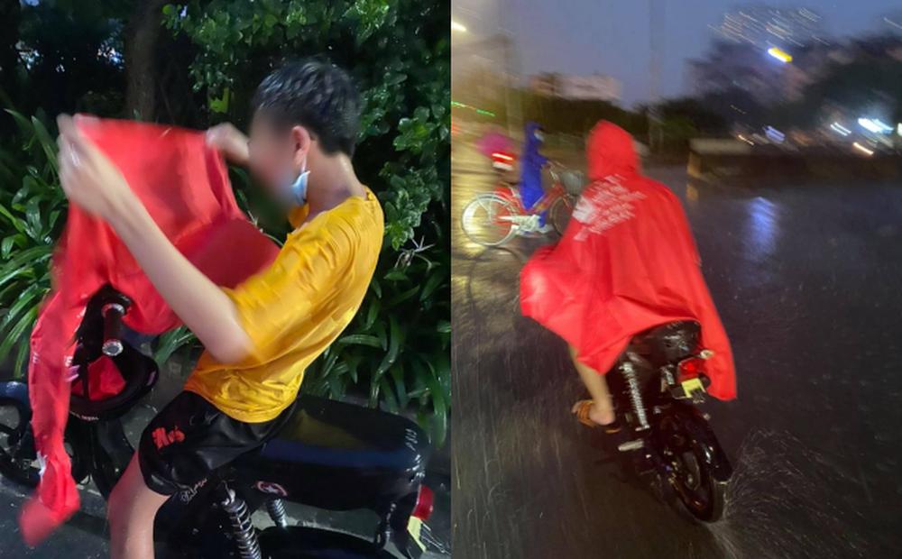 Gặp cậu bé đi đường, người đàn ông ráo riết đuổi theo giữa cơn mưa và có hành động lạ