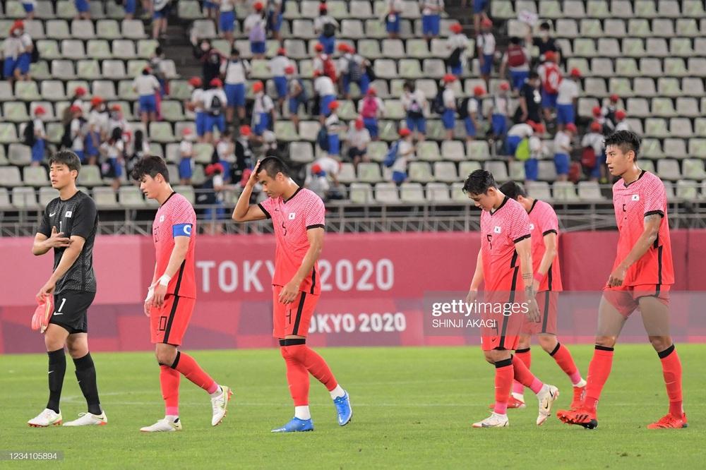 Bóng đá Olympic: Hàn Quốc mất điểm đầy nghiệt ngã; Pháp gây sốc với thất bại 1-4 - Ảnh 1.