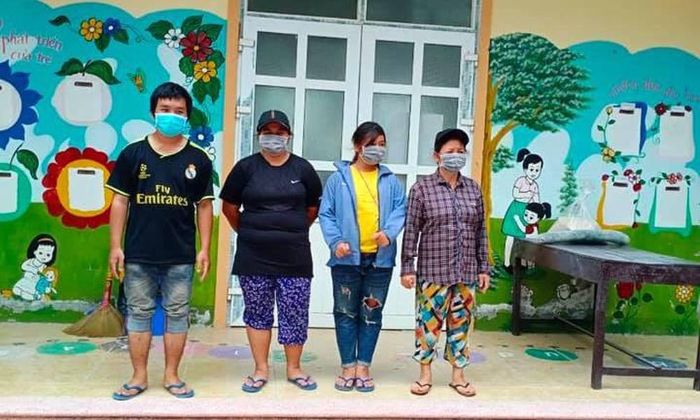 Gia đình 4 người đạp xe từ Đồng Nai đã về đến quê ở Nghệ An an toàn - Ảnh 13.