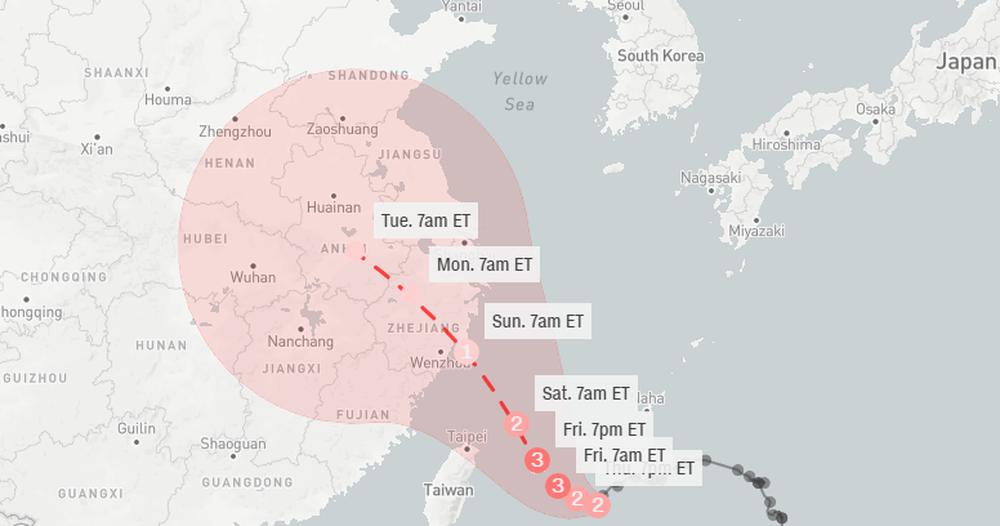 Tin xấu cho Trung Quốc: Lũ lụt chưa dứt, bão cực mạnh lại đến; Những trận mưa phá vỡ kỷ lục lịch sử 60 năm - Ảnh 1.