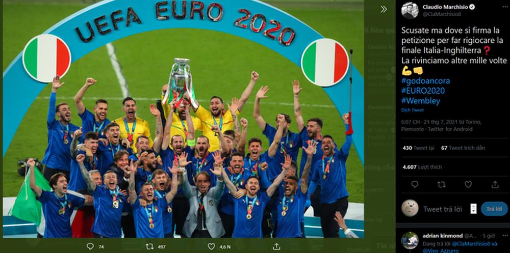 Cựu tuyển thủ Ý khẳng định Azzuri sẽ thắng 1.000 lần nếu đá lại trận chung kết Euro 2020 với đội tuyển Anh - Ảnh 1.