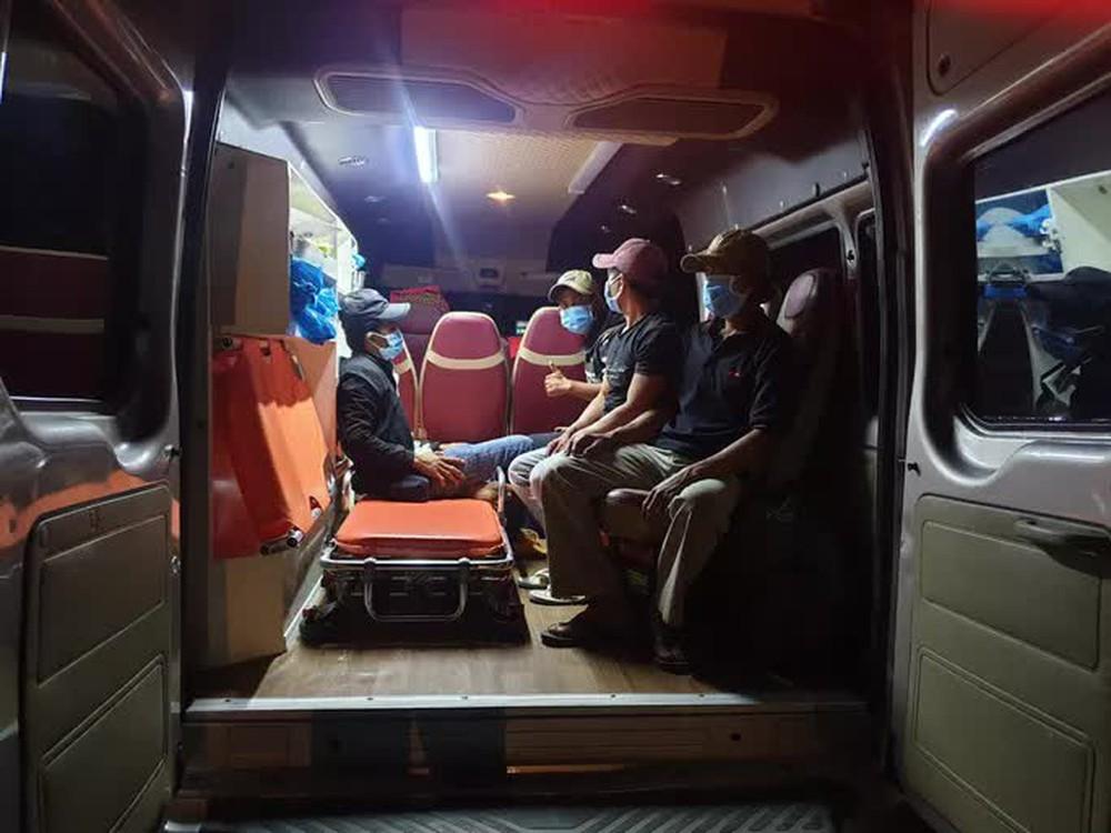 Xác minh vụ 4 ngư dân đi bộ từ Ninh Thuận về Phú Yên - Ảnh 1.