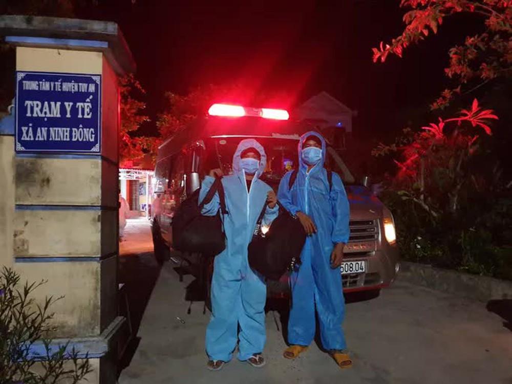 Xác minh vụ 4 ngư dân đi bộ từ Ninh Thuận về Phú Yên - Ảnh 2.