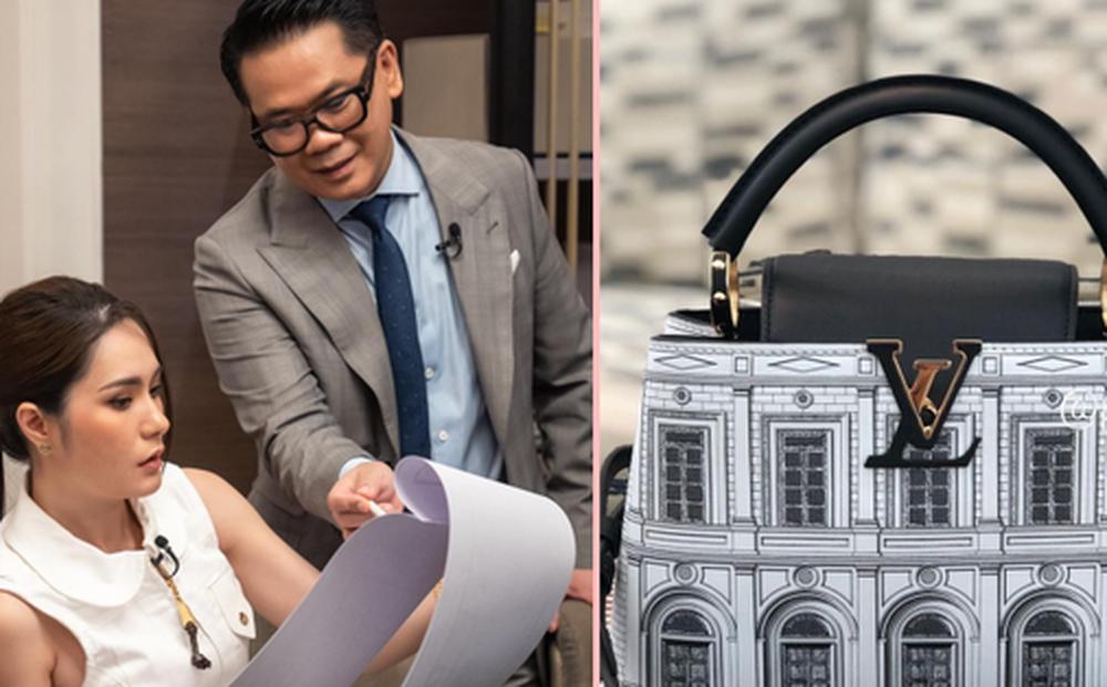Đoàn Di Băng phát hiện Louis Vuitton 'nhái' toà lâu đài 200 tỷ của Thái Công thiết kế cho mình, ngạc nhiên chưa?
