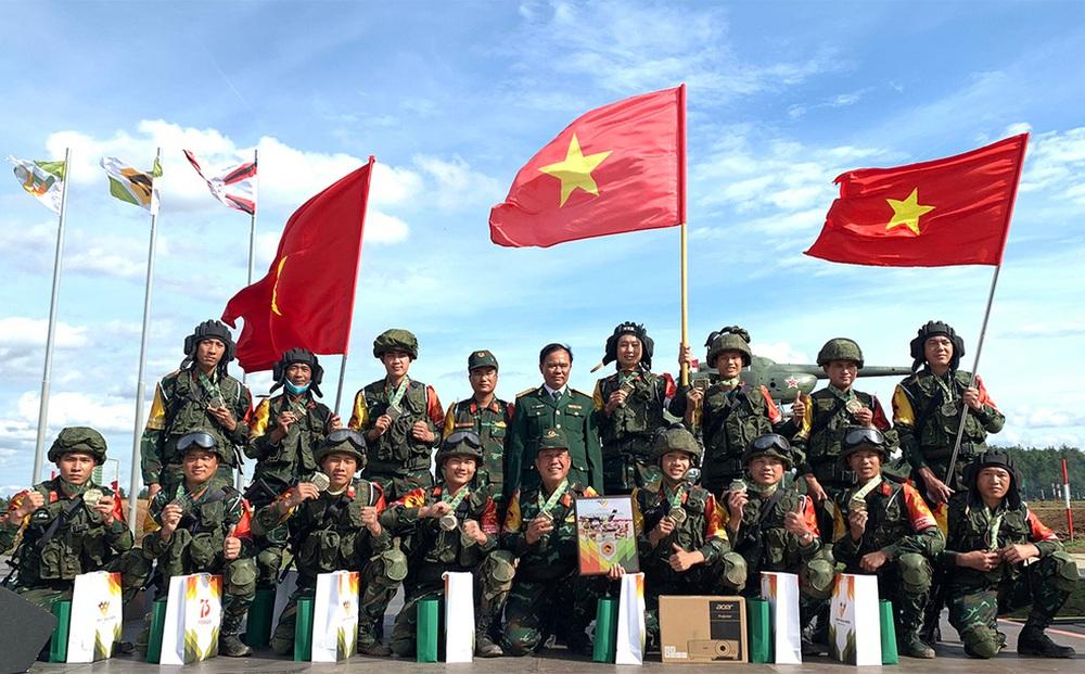 Dấu ấn Quân đội Việt Nam tại Hội thao quốc tế Army Games: Bạn bè khâm phục