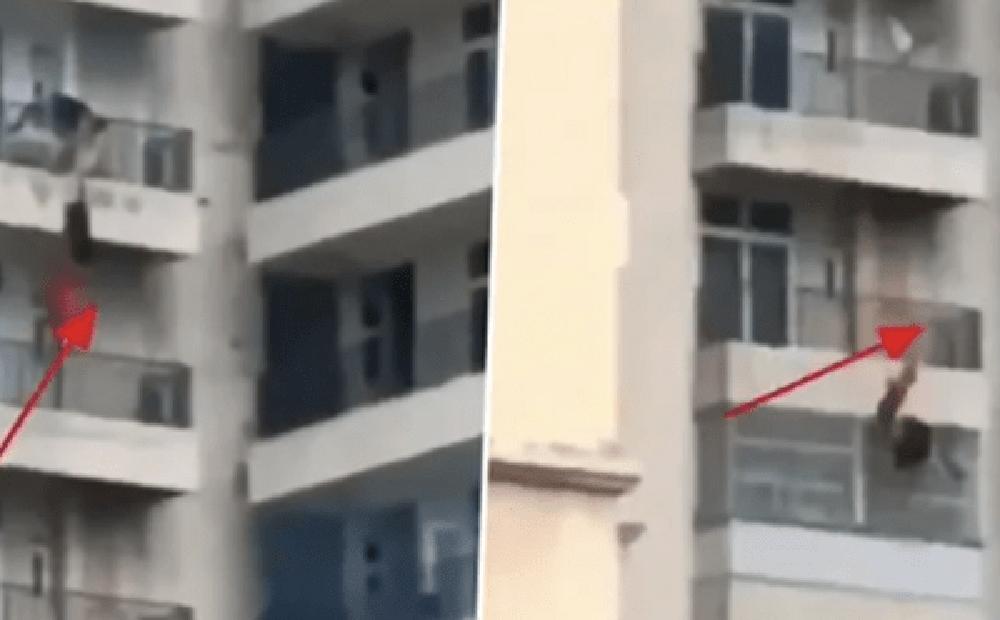 Cãi nhau với chồng, người phụ nữ rơi từ tầng 9 xuống khiến những người chứng kiến lạnh sống lưng