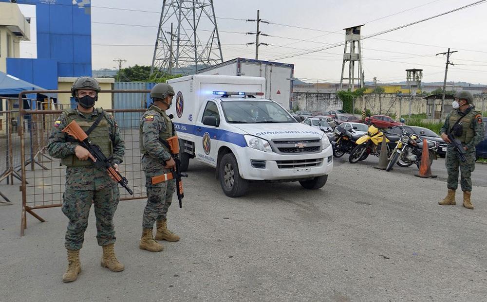 Bạo loạn trong nhà tù Ecuador khiến 18 người thiệt mạng