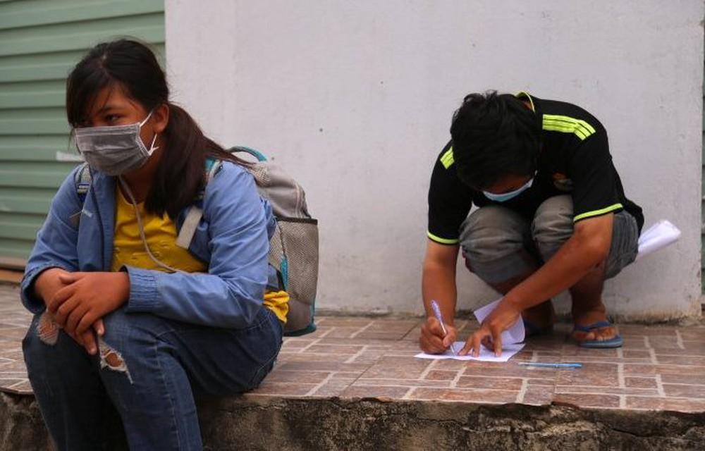 Gia đình 4 người đạp xe từ Đồng Nai đã về đến quê ở Nghệ An an toàn - Ảnh 6.