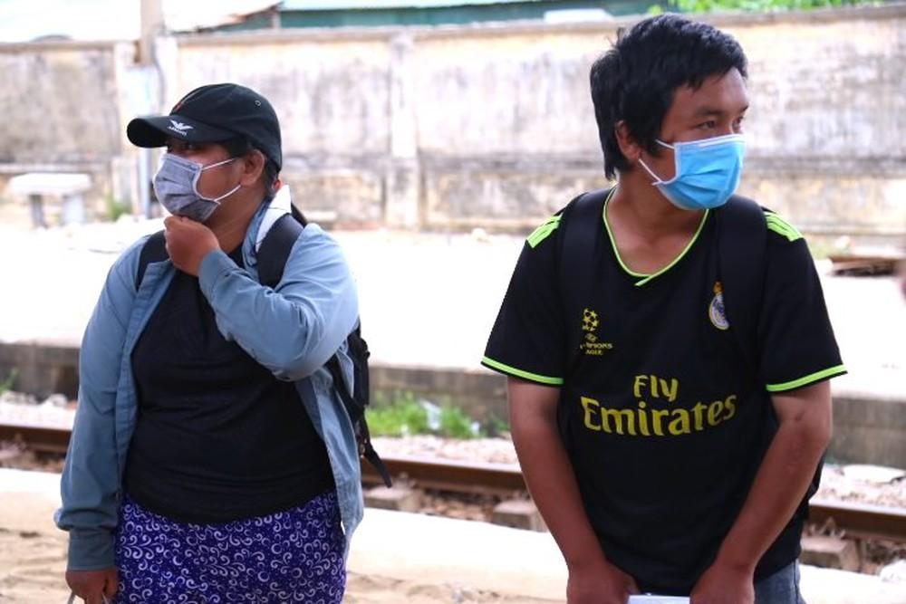 Gia đình 4 người đạp xe từ Đồng Nai đã về đến quê ở Nghệ An an toàn - Ảnh 5.