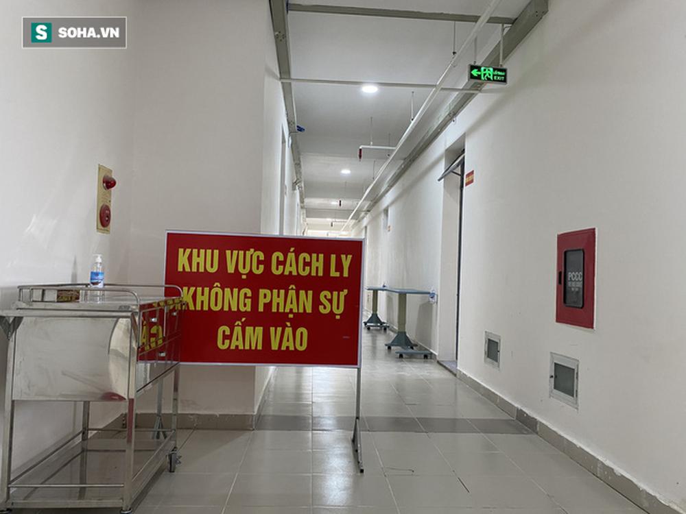Cận cảnh Bệnh viện dã chiến Đà Nẵng hoàn thành sau 3 ngày xây dựng vừa đưa vào hoạt động - Ảnh 7.