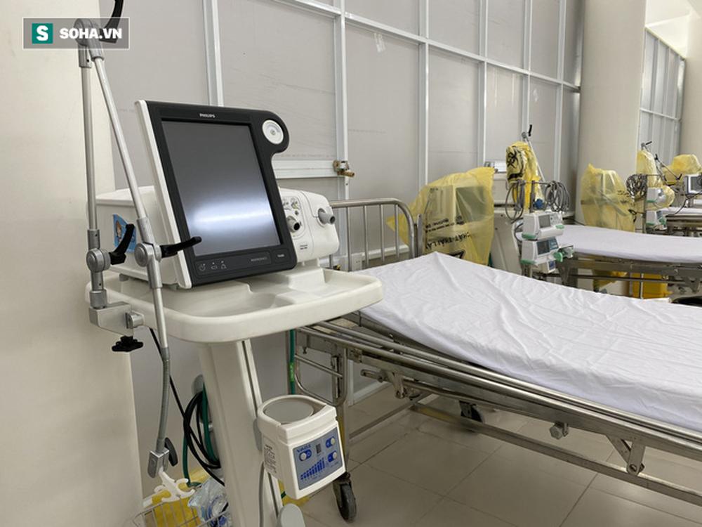Cận cảnh Bệnh viện dã chiến Đà Nẵng hoàn thành sau 3 ngày xây dựng vừa đưa vào hoạt động - Ảnh 10.