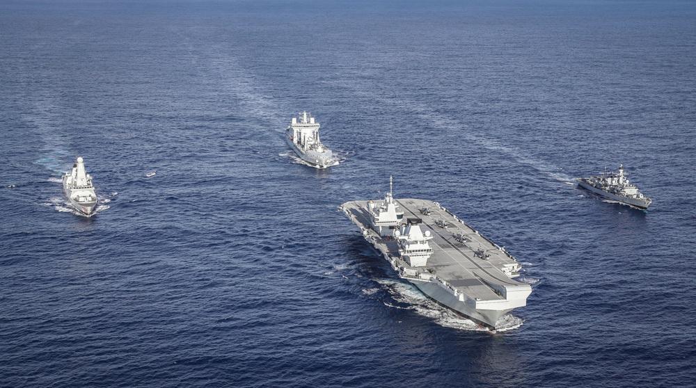2 chiến hạm Anh nằm vùng châu Á: Mũi tên chí mạng, TQ lo sốt vó - Ảnh hưởng của Bắc Kinh tê liệt? - Ảnh 2.