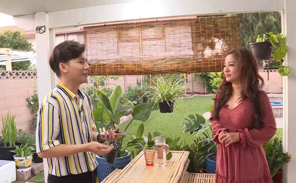 Cuộc sống ca sĩ Ngọc Châu tại Mỹ: Ở nhà thuê, làm vườn như một nông dân