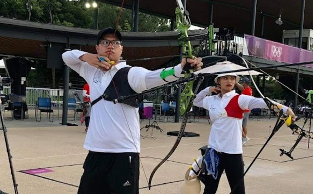 Cung thủ loạn thị của Việt Nam thi không tốt, lỡ hẹn với nội dung đôi ở Olympic Tokyo